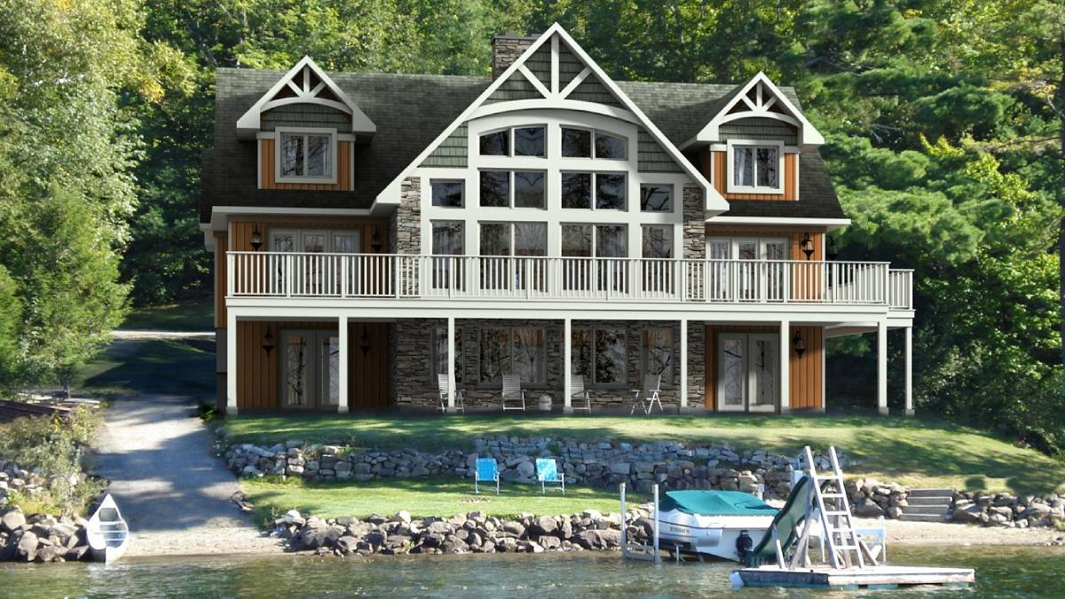 Two-Storey Home and Cottages - Beaver Homes & Cottages | Rashotte Home Hardware Building Centre