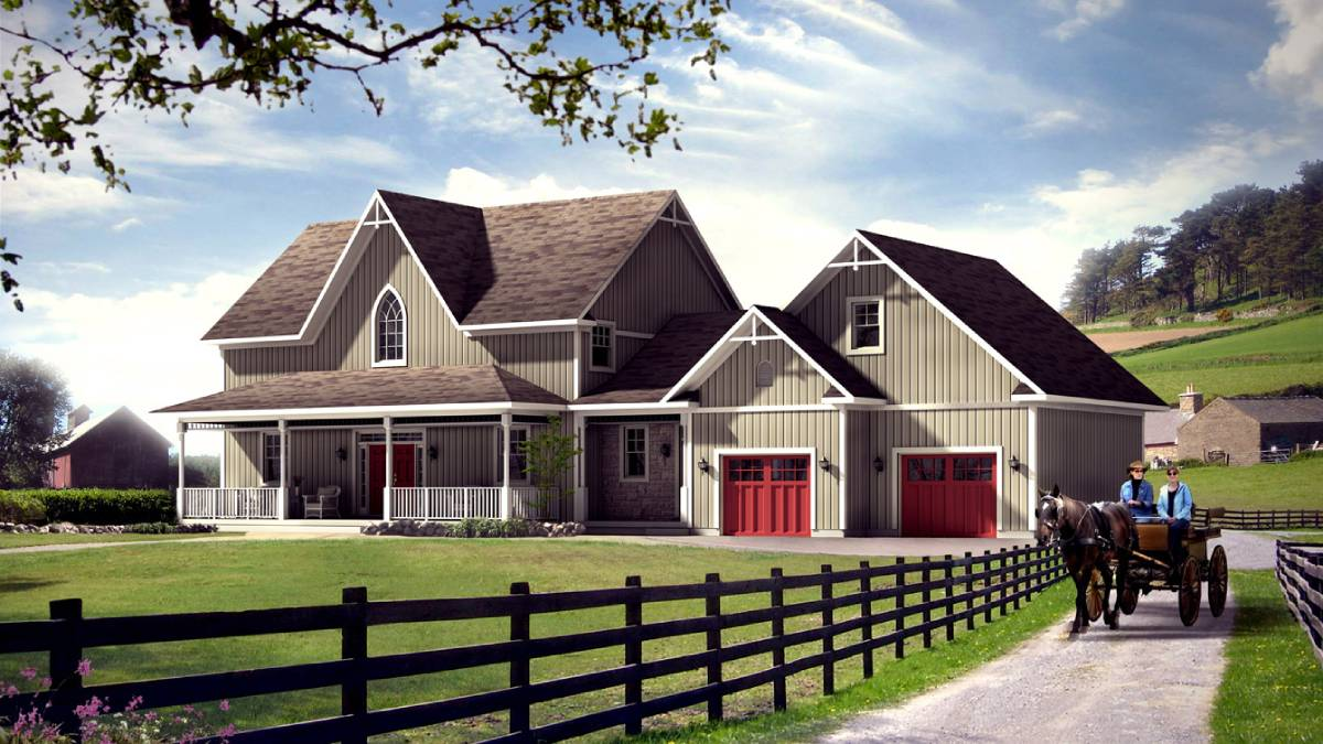 Country Homes - Beaver Homes & Cottages | Rashotte Home Hardware Building Centre